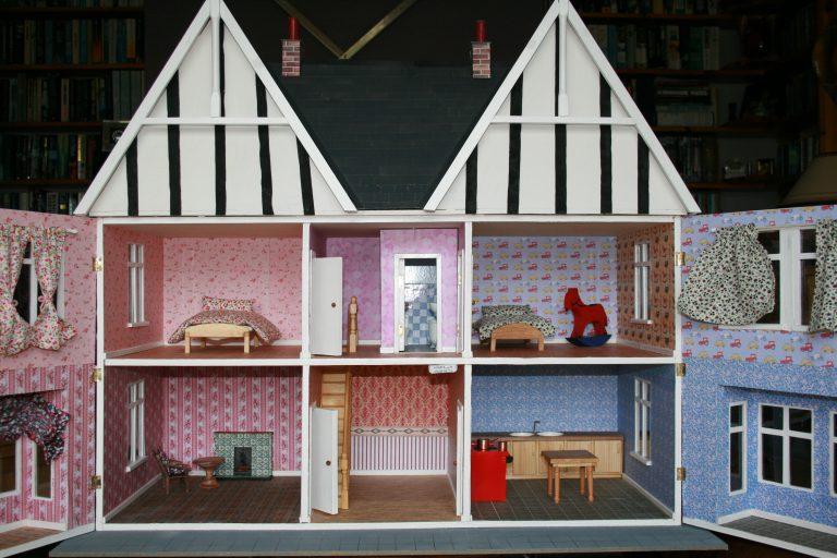 Dolls house inside