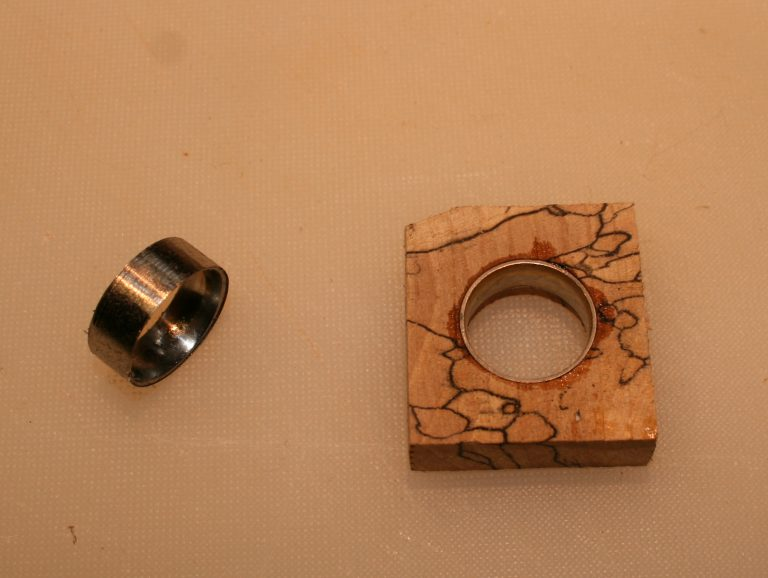Wood Ring making parts