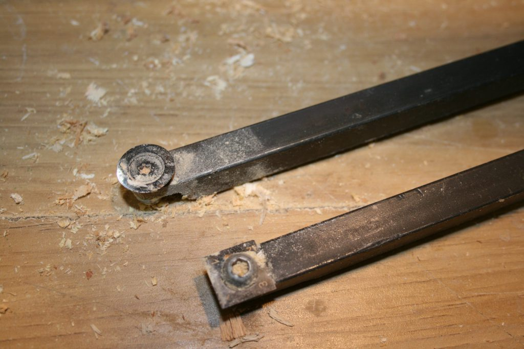 Homemade carbide tools for woodturning