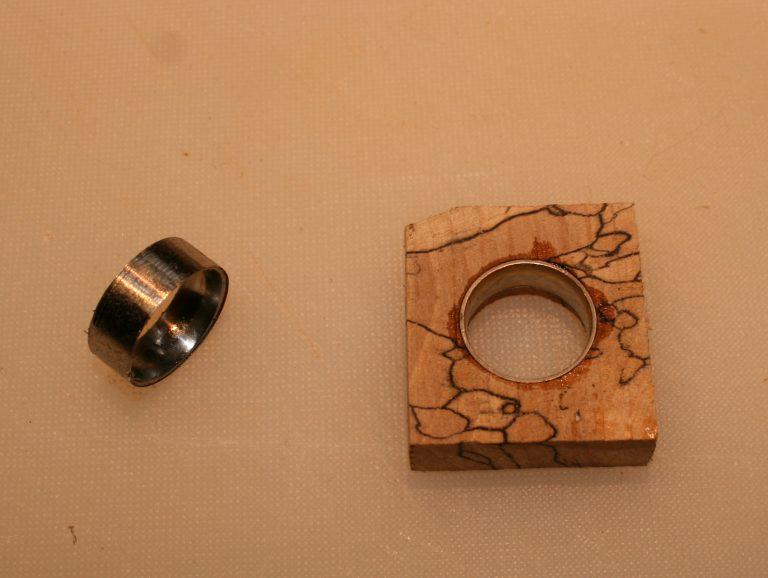 Wood Ring making parts