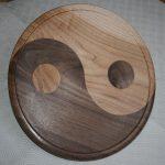 Yin yang platter